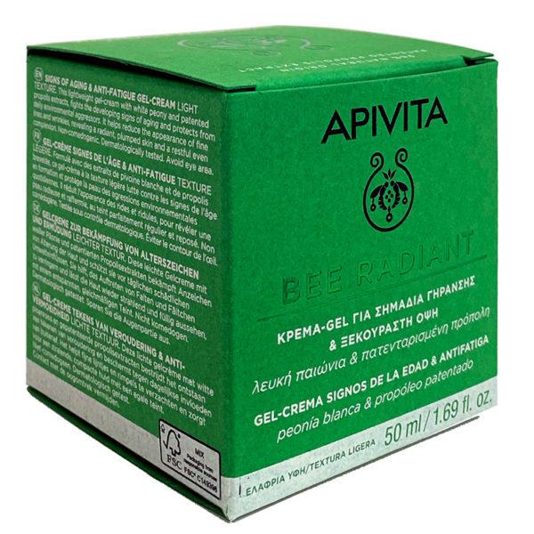 APIVITA BEE RADIANT GEL CREMA ANTIEDAD TEXTURA LIGERA 50ML