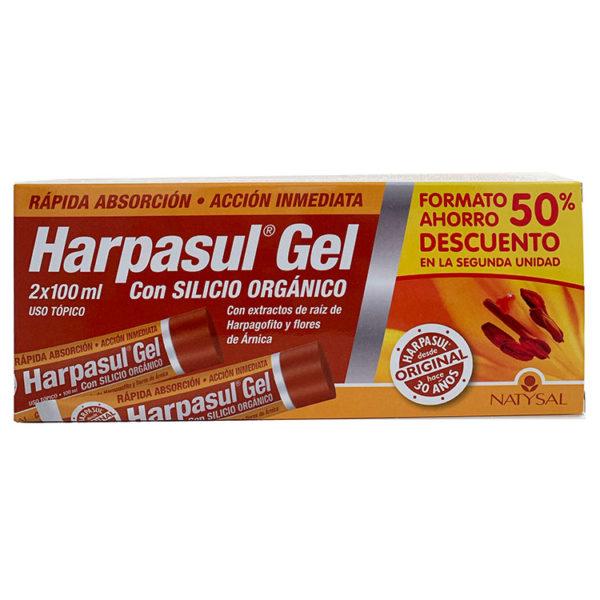 HARPASUL GEL NATYSAL 2x100ML FORMATO AHORRO 50%DESCUENTO 2ª UNIDAD
