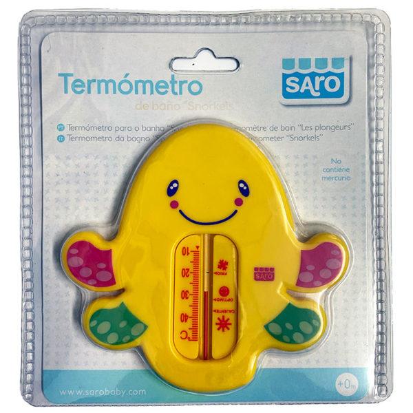 Saro Termómetro Baño Snorkels controla la temperatura del agua evitando que el niño se queme