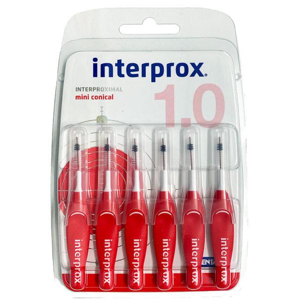 Interprox Cepillo Interproximal Mini Cónicapara una perfecta higieneen los espacios entre los dientes