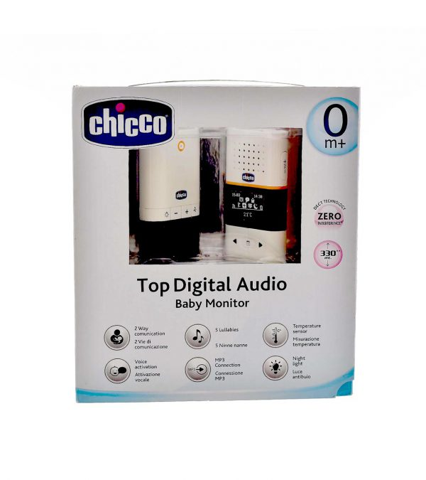 CHICCO BABY MONITOR TOP DIGITAL AUDIO MOD06620