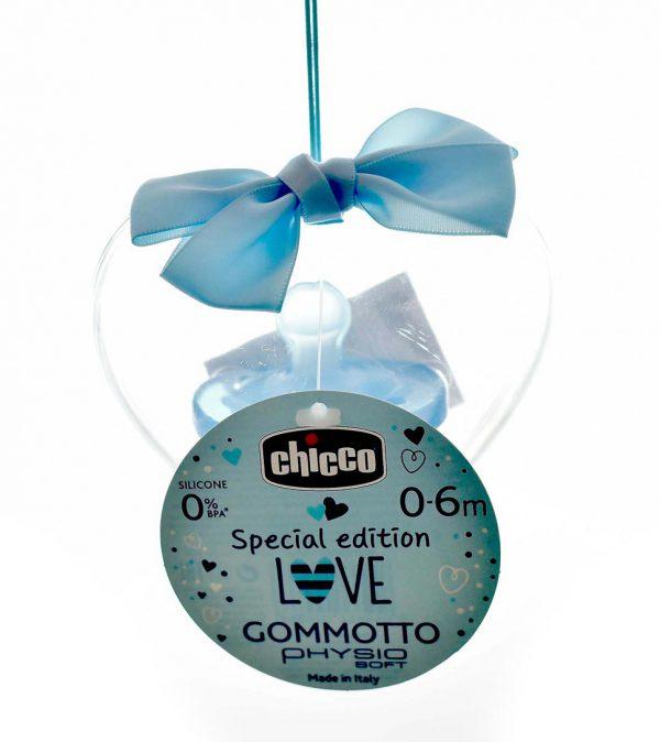 CHUPETE CHICCO PHYSIO SOFT SILICONA 0-6M