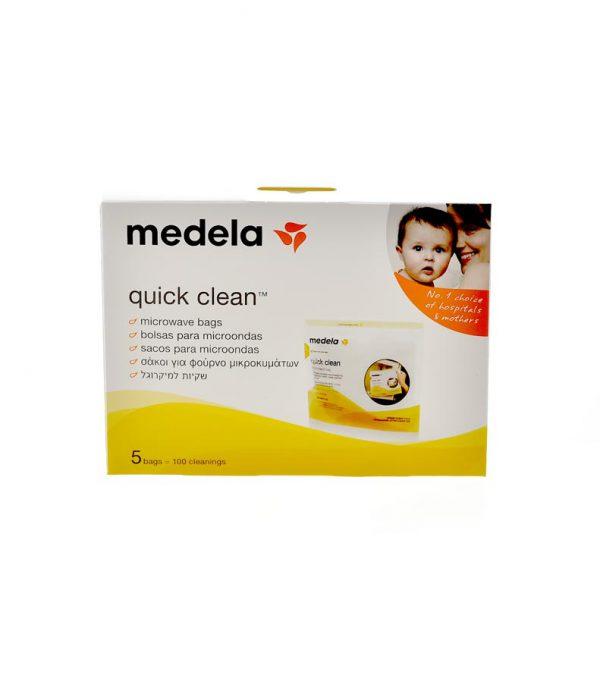 MEDELA QUICK CLEAN BOLSAS PARA MICROONDAS. 5 BOLSAS