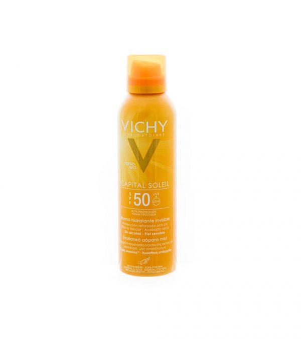 VICHY CAPITAL SOLEIL BRUMA HIDRATANTE INVISIBLE SPF 50 200ML