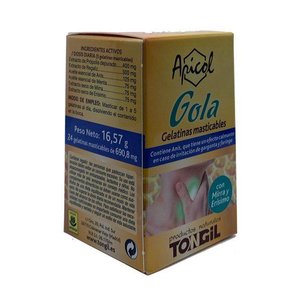 APICOL GOLA PLUS TONGIL 24 PERLAS