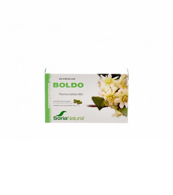 BOLDO SORIA NATURAL 60 COMPRIMIDOS