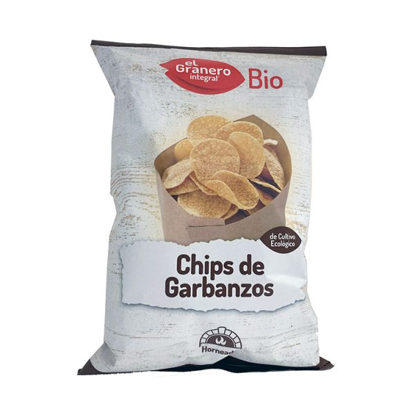 CHIPS DE GARBANZOS BIO 80G