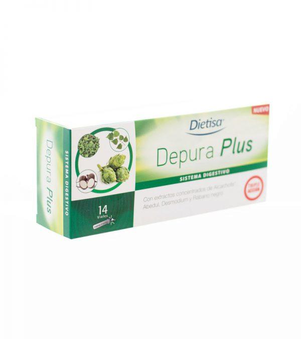 DEPURAPLUS DIETISA 14 VIALES