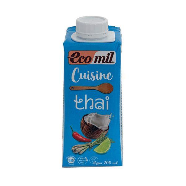 ECOMIL CUISINE THAI (COCO CON TOQUE PICANTE) BIO MINIBRIK 200ML
