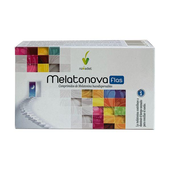 MELATONOVA FLAS NOVADIET 30 COMPRIMIDOS