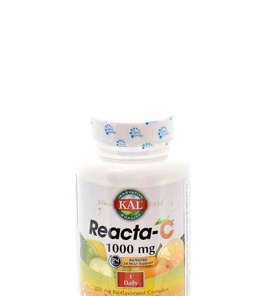 REACTA C KAL 1000 MG 60 TABLETAS