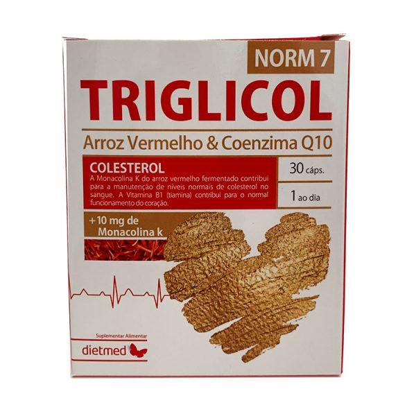 TRIGLICOL NORM7 DIETMED 30 CÁPSULAS