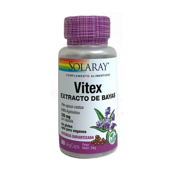 VITEX AGNUS CASTUS SOLARAY 60 CÁPSULAS