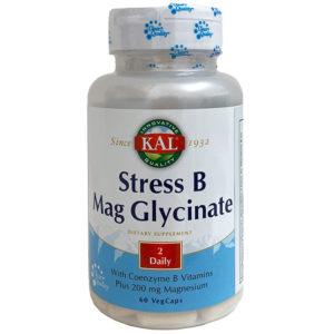 STRESS B MAG GLYCINATE KAL 60 CÁPSULAS
