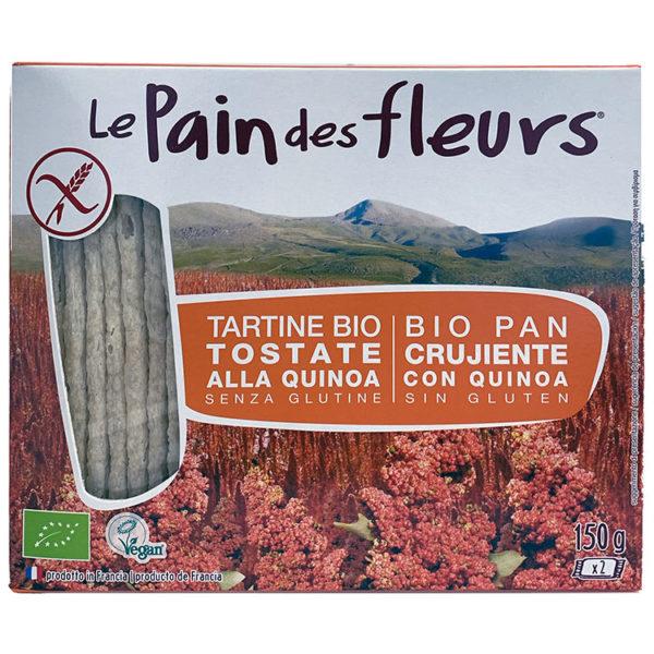 PAN DE FLORES CON QUINOA SIN GLUTEN BIO LE PAN DES FLEURS 150G