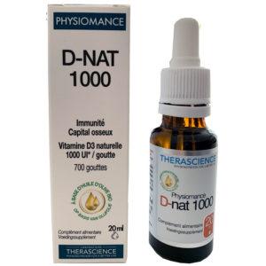 PHYSIOMANCE D NAT 1000 GOTAS THERASCIENCE 20ML