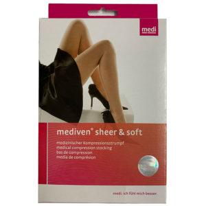 MEDIVEN SHEER&SOFT AG T.I  PETITE - NATURAL