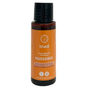 El Champú Ayurveda Nutgras Bio de Khadi regula la secreción de sebo