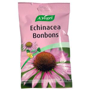 Echinacea Bonbons de A.Vogel son unos caramelos deliciosos rellenos de extracto de echinacea de planta fresca