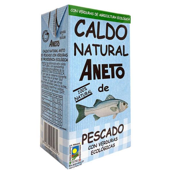 ANETO CALDO DE PESCADO CON VERDURAS BIO 1L