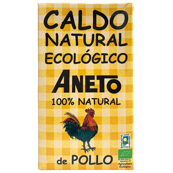 CALDO DE POLLO BIO ANETO 1L