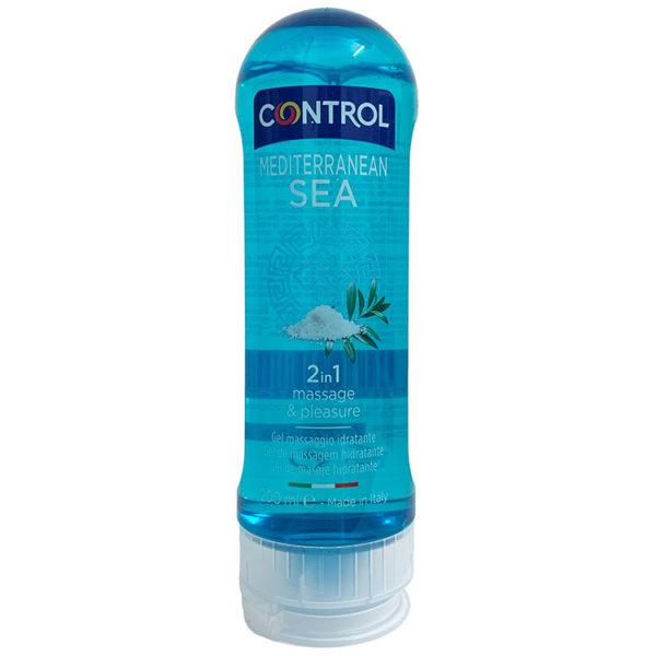 CONTROL GEL MASAJE MEDITERRANEAN SEA 200ML