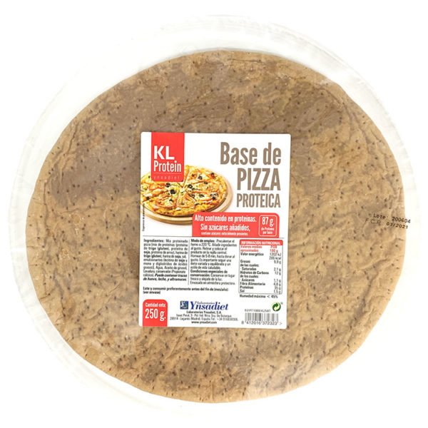 BASE DE PIZZA PROTEICA YNSADIET 250G