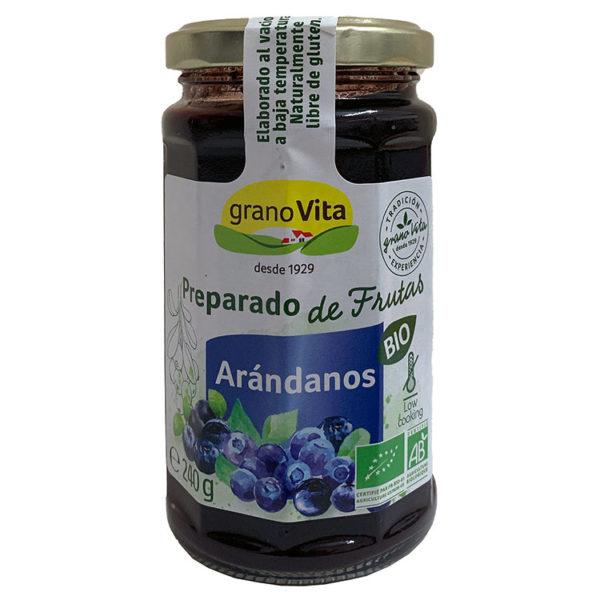GRANOVITA MERMELADA DE ARÁNDANOS BIO 240G