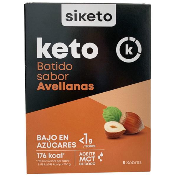 Batido con sabor a Avellana Siketo es un delicioso tentempié ideal en la dieta Keto