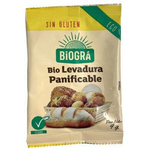 LEVADURA PANIFICABLE BIO BIOGRA 9G