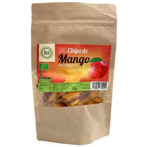 CHIPS DE MANGO BIO DESHIDRATADO SOL NATURAL 125G