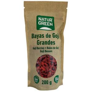 BAYAS DE GOJI GRANDES BIO NATURGREEN 200G