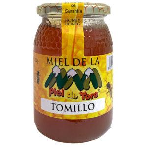 MIEL CRUDA DE TOMILLO PIEL DE TORO 500G