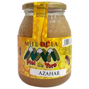 MIEL CRUDA DE AZAHAR PIEL DE TORO 1KG