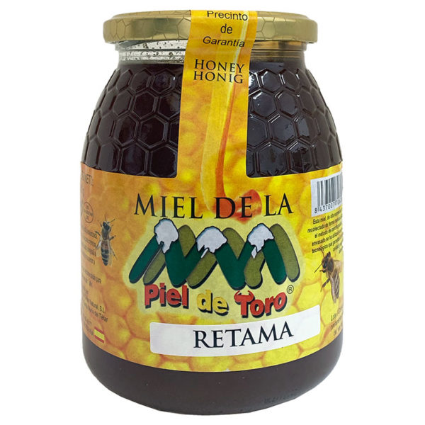 MIEL CRUDA DE RETAMA PIEL DE TORO 1 KG