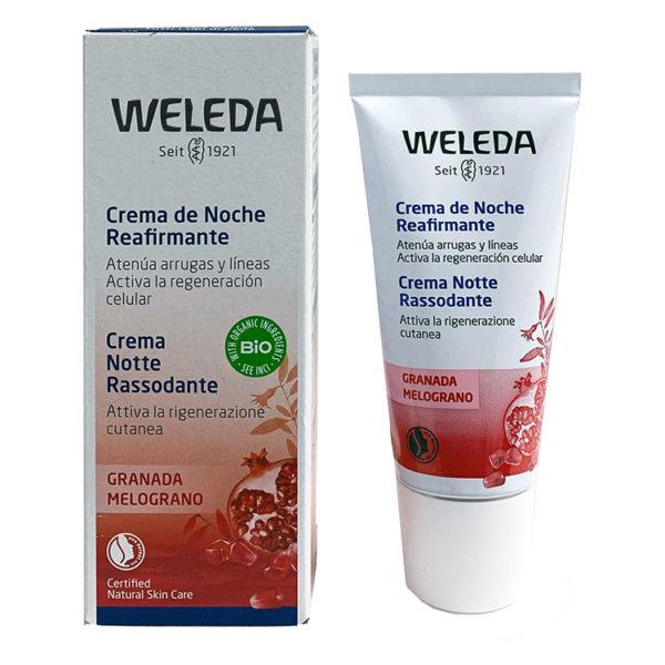 WELEDA CREMA DE NOCHE REAFIRMANTE DE GRANADA 30 ML