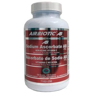 ASCORBATO DE SODIO AB (VITAMINA C NO ÁCIDA) AIRBIOTIC 250G