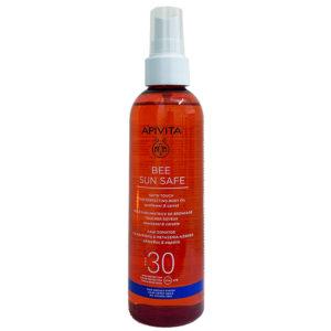 APIVITA BEE SUN SAFE ACEITE SOLAR CORPORAL SPF30 200ML