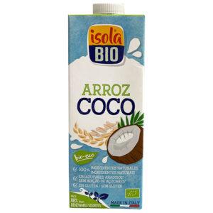 BEBIDA DE ARROZ Y COCO BIO ISOLA 1L