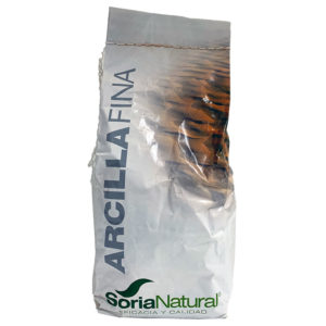 ARCILLA VERDE SORIA NATURAL 250G