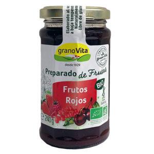 GRANOVITA MERMELADA DE FRUTOS ROJOS BIO GRANOVITA 240G