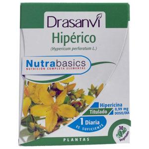 HIPÉRICO DRASANVI NUTRABASIC 30 CÁPSULAS